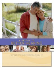 A bridge to better hearing - Advanced Hearing Centers of America