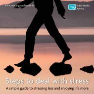 Steps to deal with stress - Minding Your Head