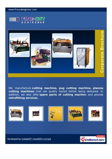 Fine Cut Engineers, India, Pune - Importer & Manufacturer of Plasma ...