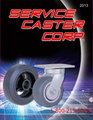 Your Complete Source For Casters & Wheels - Service Caster ...