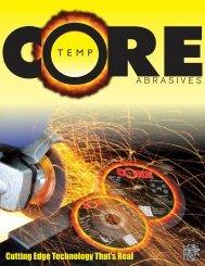 ABRASIVES Cutting Edge Technology That's Real - CoreTemp ...