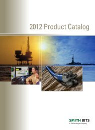 Smith Bits 2012 Product Catalog - Schlumberger
