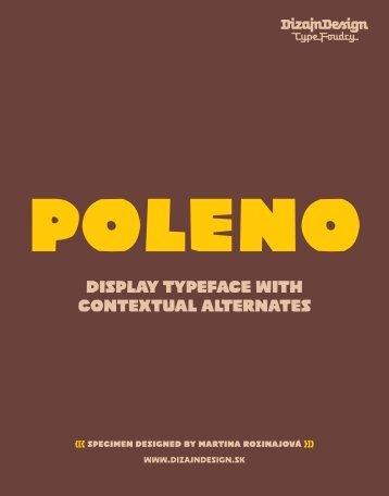 Pdf Specimen - DizajnDesign Type foundry