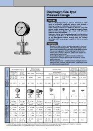 Diaphragm-Seal type Pressure Gauge