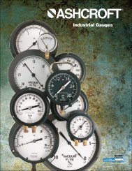 Industrial Gauges - Tri-State Technical Sales Corp.