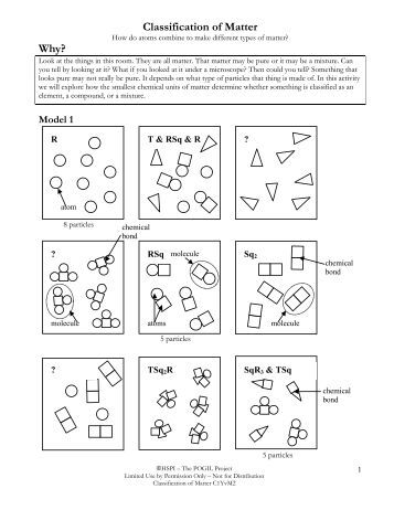 Worksheet Classification Of Matter Worksheet review and practice on classification of matter why