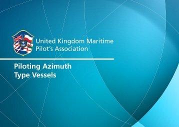Piloting Azimuth Type Vessels - International Maritime Pilots ...