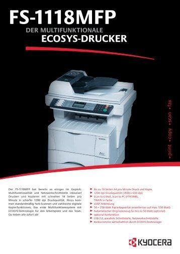 ECOSYS-DRUCKER