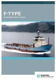 Supply Service F-Type - Maersk Supply Service