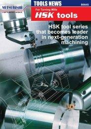 HSK tool - Mitsubishi Materials