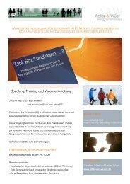 Gsz@soziologie.uni-muenchen.de Coaching, Training und ...