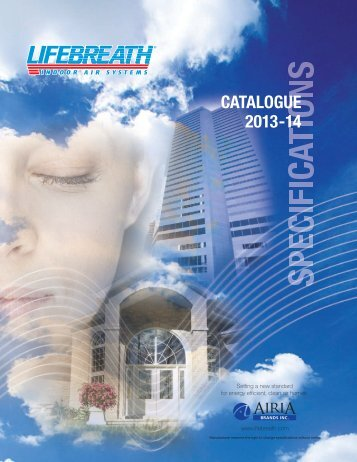 2013-14 CATALOGUE - LIFEBREATH
