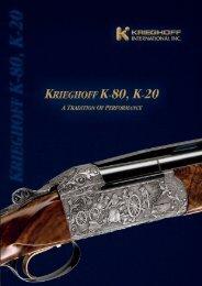 Download Brochure (17.2 MB) - Krieghoff International, Inc.