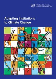 Twenty-eighth Report Adapting Institutions to Climate Change Cm ...