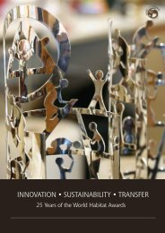 Innovation • Sustainability • Transfer: 25 Years of the World