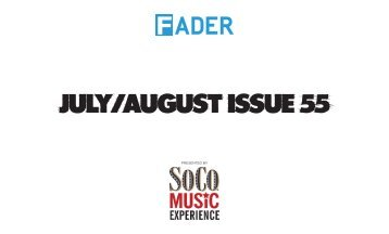 here - The Fader