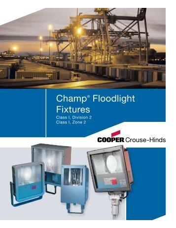 Champ® Floodlight Fixtures - Cooper Industries