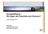 Energieeffizienz - Küffer Elektro-Technik AG