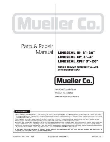 Lineseal® III - Mueller Co.