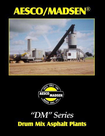 """""""DM""""™ Series Brochure - Aesco/Madsen"""