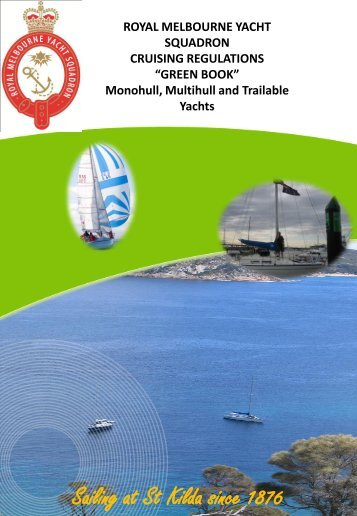 RMYS Green Book - Royal Melbourne Yacht Squadron