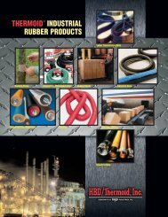 Industrial Rubber Products Catalog - Thermoid