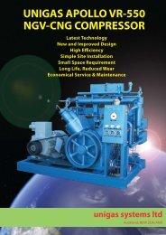 download apollo vr-550 cng compressor brochure - Unigas Systems