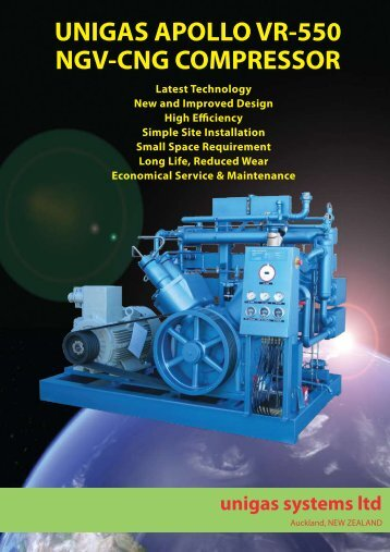 download apollo vr-550 cng compressor brochure - Unigas Systems