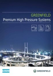 GREENFIELD Premium High Pressure Systems