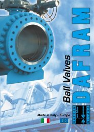 Dafram Literature - Cotswold Valves Ltd