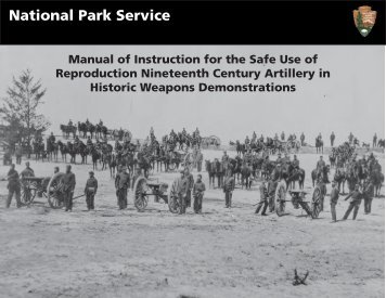 Manual of Instruction for the Safe Use of - National Park Service