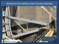 Wanapum Dam Spillway Gate Turnnion Bearings - Nathan Manning