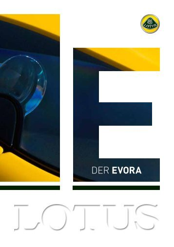 DER EVORA - Lotus Haese