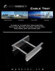 Cable Tray Online Brochure.pub - MP Husky