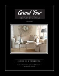 Supplement 2012 - Century Furniture