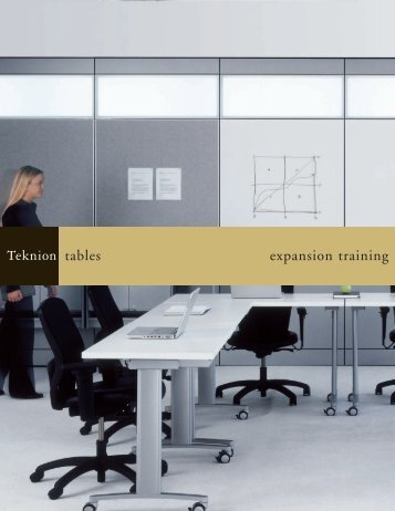 tables expansion training - Teknion