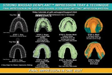 Immediate Impression - Star Dental Lab.net