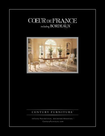 PDF catalog - Century Furniture