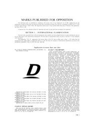 11 March 2003 - United States Patent and Trademark Office
