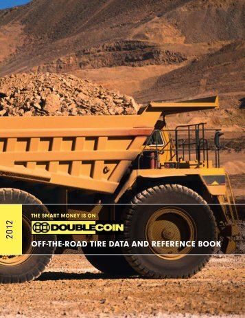 OFF-THE-ROAD TIRE DATA AND REFERENCE BOOK - Double Coin
