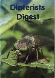 Dipteri ts Digest No.8 1991 - Dipterists Forum