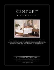 View Catalog w/Options - Century Furniture
