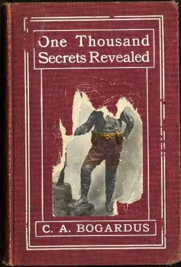 ONE THOUSAND SECRETS REVEALED