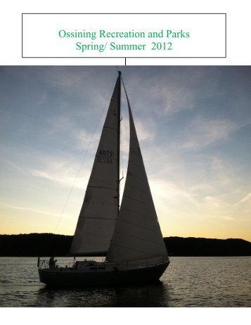 Summer 2012 - Town of Ossining