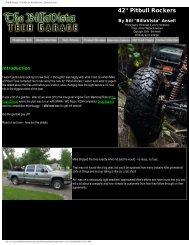 Pitbull Rockers - Tire Review by BillaVista ... - Pit Bull Tires