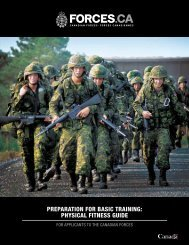 preparation for basic training: physical fitness guide - Canadian ...