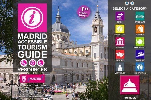 Accessible resources in Madrid. PDF (49 Mb) - Spain