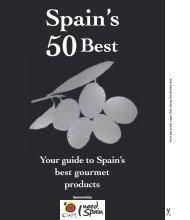 50 Spanish foods - PDF - Spain