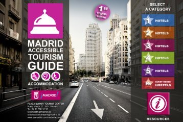 Accessible accommodation in Madrid. PDF - Spain