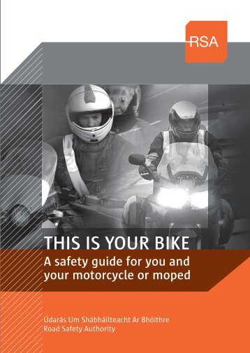 This is your bike - Road Safety Authority